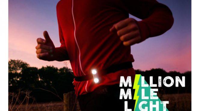 走るだけ発電 ミリオンマイルライト